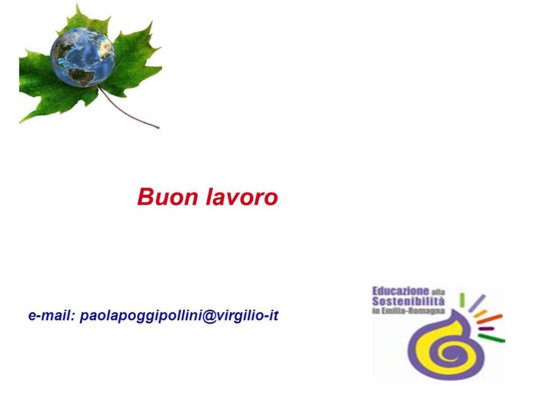 Buon lavoro e-mail: paolapoggipollini@virgilio-it