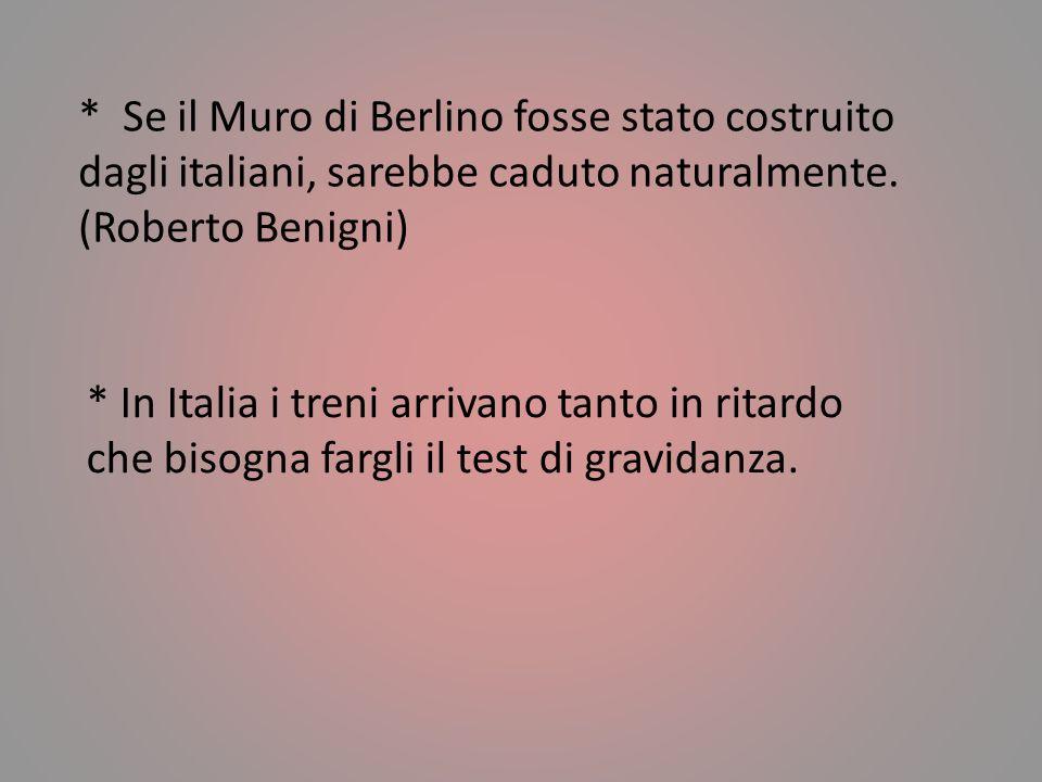 * Gli italiani corrono sempre in aiuto al vincitore. (Ennio Flaiano) * In Italia nulla è stabile quanto il provvisorio. (Giuseppe Prezzolini)