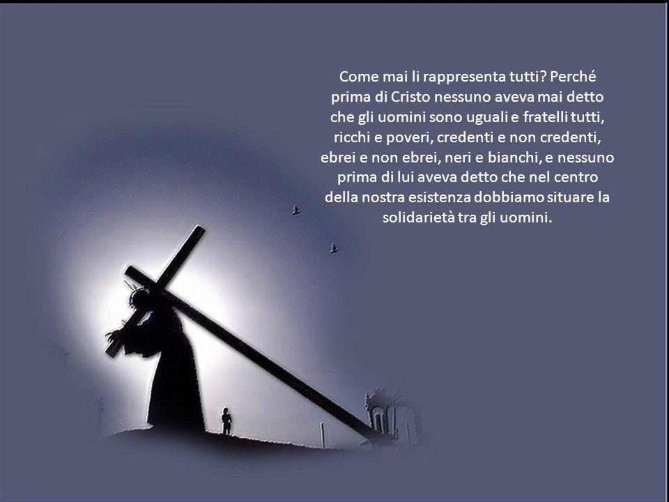 Gesù Cristo ha portato la croce.