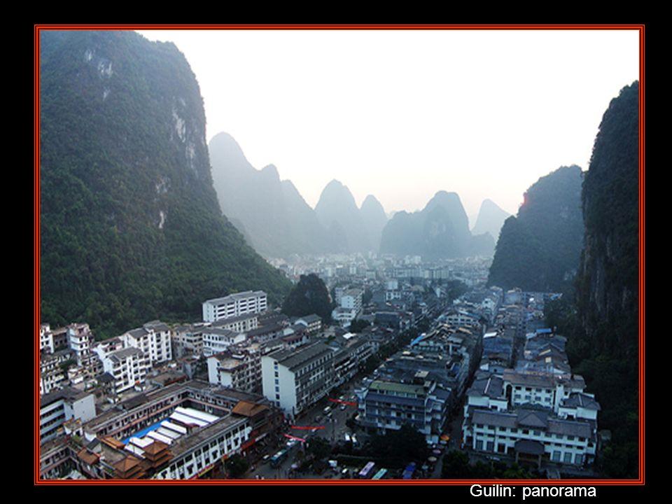 Guilin Il nome, che in cinese significa bosco delle cassie, si deve alla presenza massiccia di questo albero nella città e nel circondario. Guilin è c