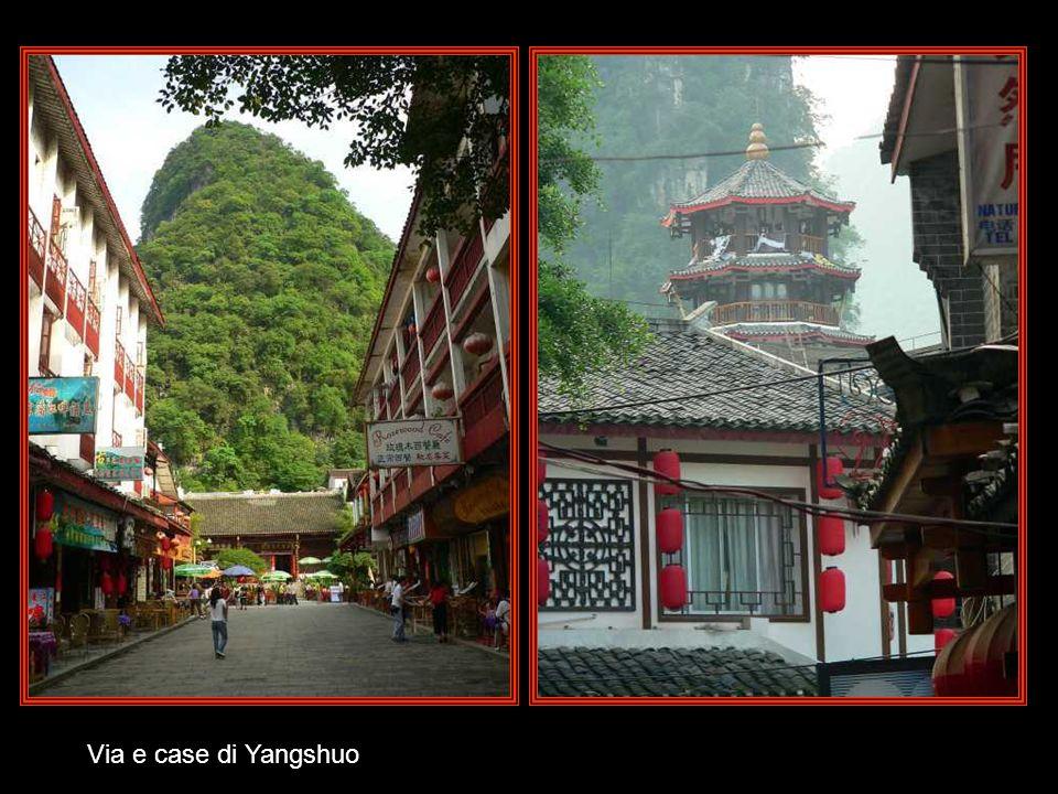 Panorama del villaggio di Yangshuo