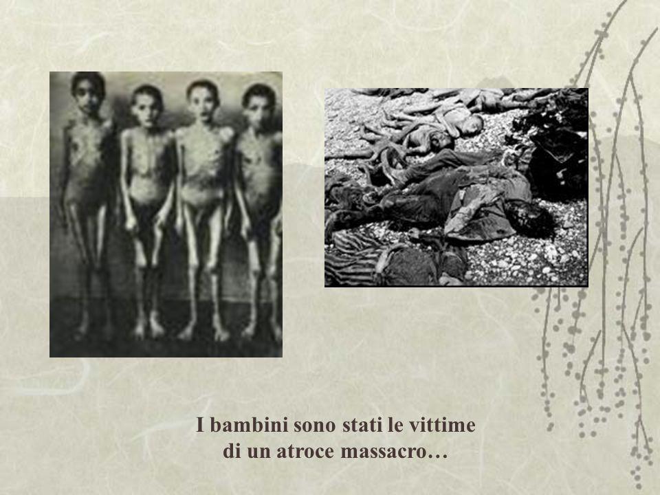 I bambini sono stati le vittime di un atroce massacro…