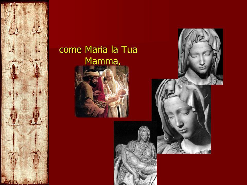 come Maria la Tua Mamma,