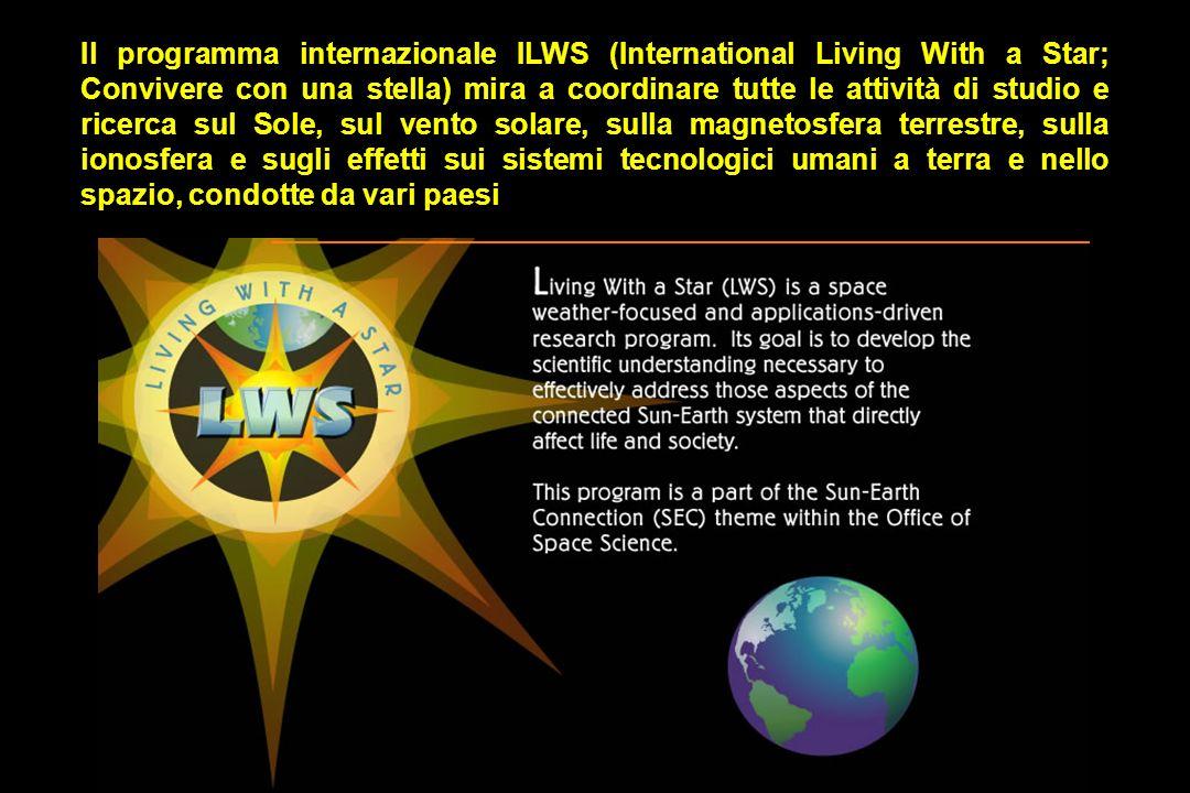 Il programma internazionale ILWS (International Living With a Star; Convivere con una stella) mira a coordinare tutte le attività di studio e ricerca sul Sole, sul vento solare, sulla magnetosfera terrestre, sulla ionosfera e sugli effetti sui sistemi tecnologici umani a terra e nello spazio, condotte da vari paesi