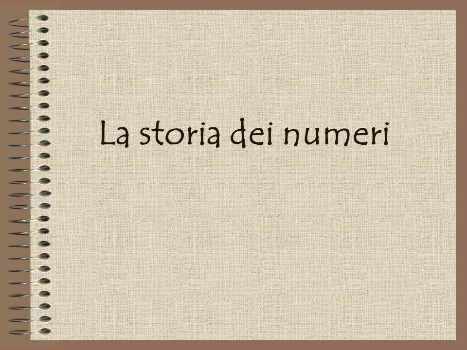 La storia dei numeri