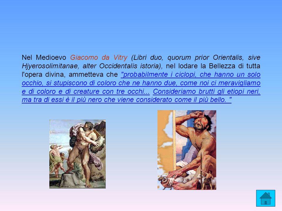 Nel Medioevo Giacomo da Vitry (Libri duo, quorum prior Orientalis, sive Hjyerosolimitanae, alter Occidentalis istoria), nel lodare la Bellezza di tutt