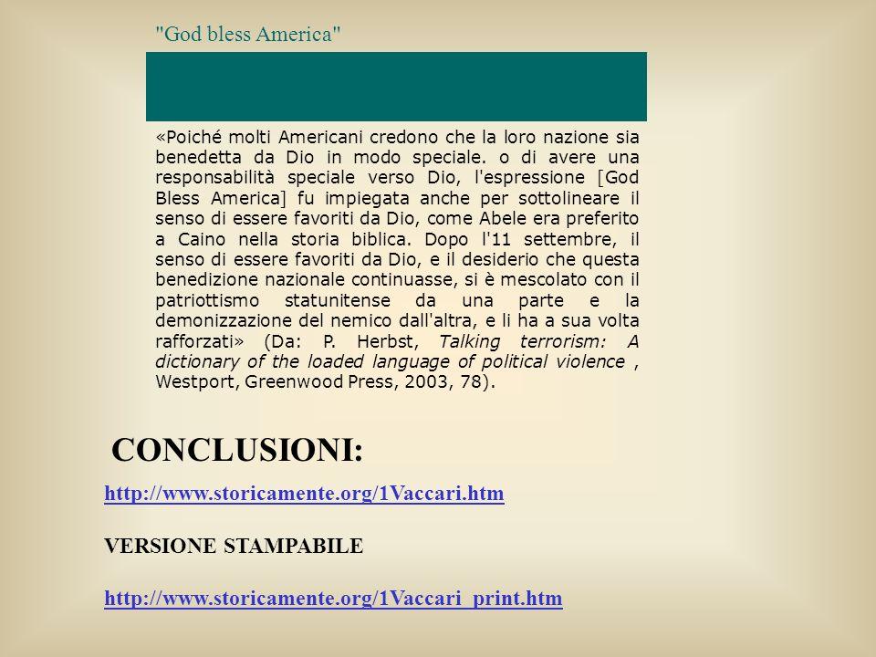 http://www.storicamente.org/1Vaccari.htm VERSIONE STAMPABILE http://www.storicamente.org/1Vaccari_print.htm CONCLUSIONI: