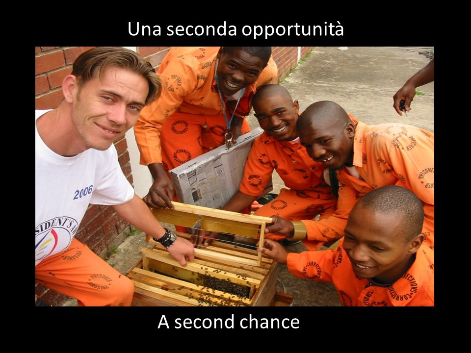 A second chance Una seconda opportunità