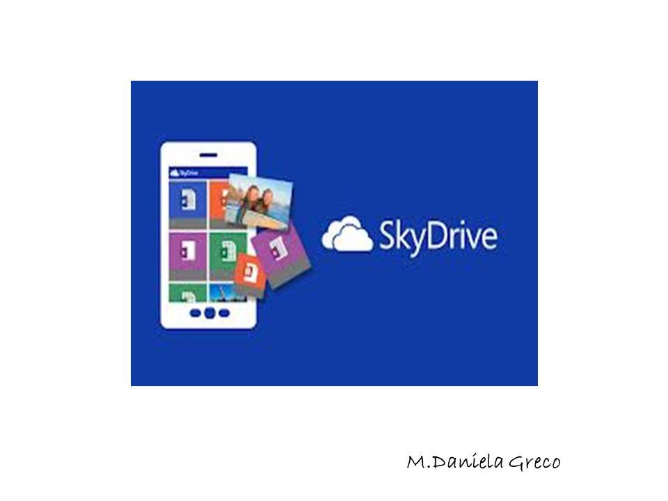 SkyDrive Microsoft SkyDrive è uno dei servizi offerti da Windows Live.Windows Live SkyDrive è un hard disk virtuale, accessibile da browser web.