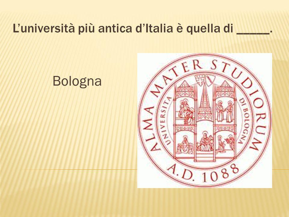 La città dove si vedono le due torri Garisenda ed Asinelli è _____. Bologna GarisendaAsinelli