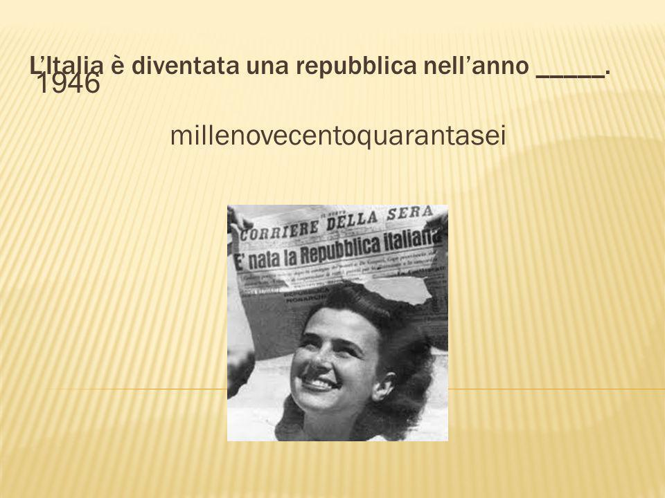Roma divenne la capitale dItalia nellanno _____. milleottocentosettanta 1870