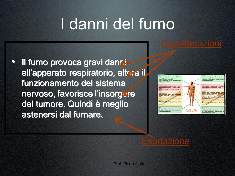 Prof.Pietro Alotto16 Che cosè unargomentazione.