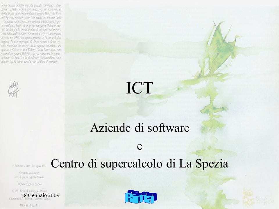 8 Gennaio 2009 Esterno Il sistema informativo (2 flussi) Data Processing Storage Delivery Assimilation Collection (ftp, http) & forecast & transmission Interno MFS