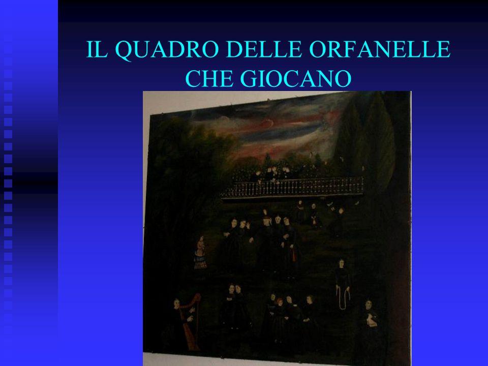 Il quadro di ignoto pittore locale è stato rinvenuto nella ex sede dellorfanatrofio femminile di Bagnacavallo, in pessimo stato di conservazione; fungeva infatti da anta di un armadio in completo abbandono.