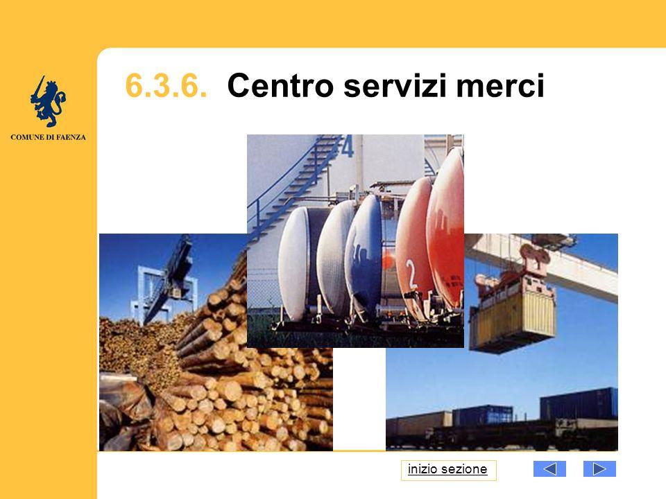 6.3.6. Centro servizi merci inizio sezione