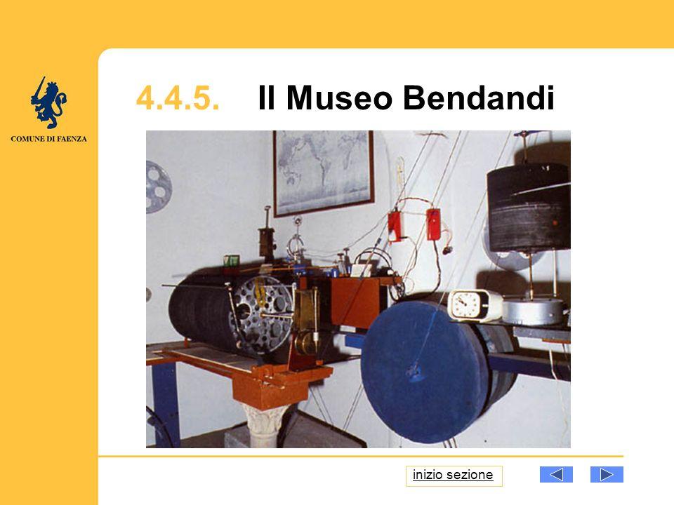 4.4.5. Il Museo Bendandi inizio sezione
