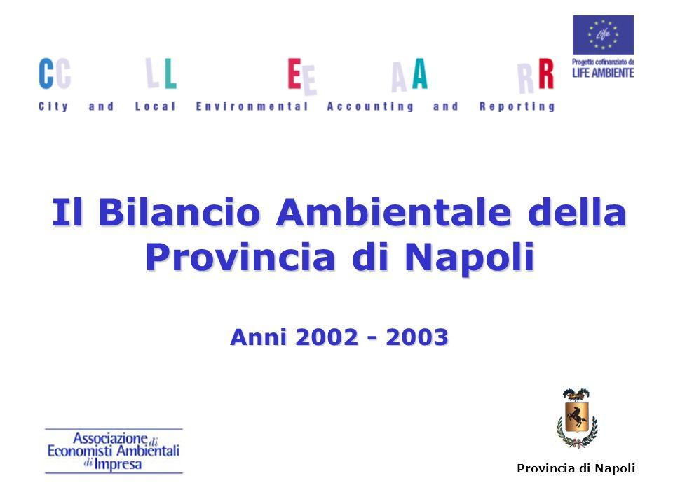 Provincia di Napoli Il Bilancio Ambientale della Provincia di Napoli Anni 2002 - 2003