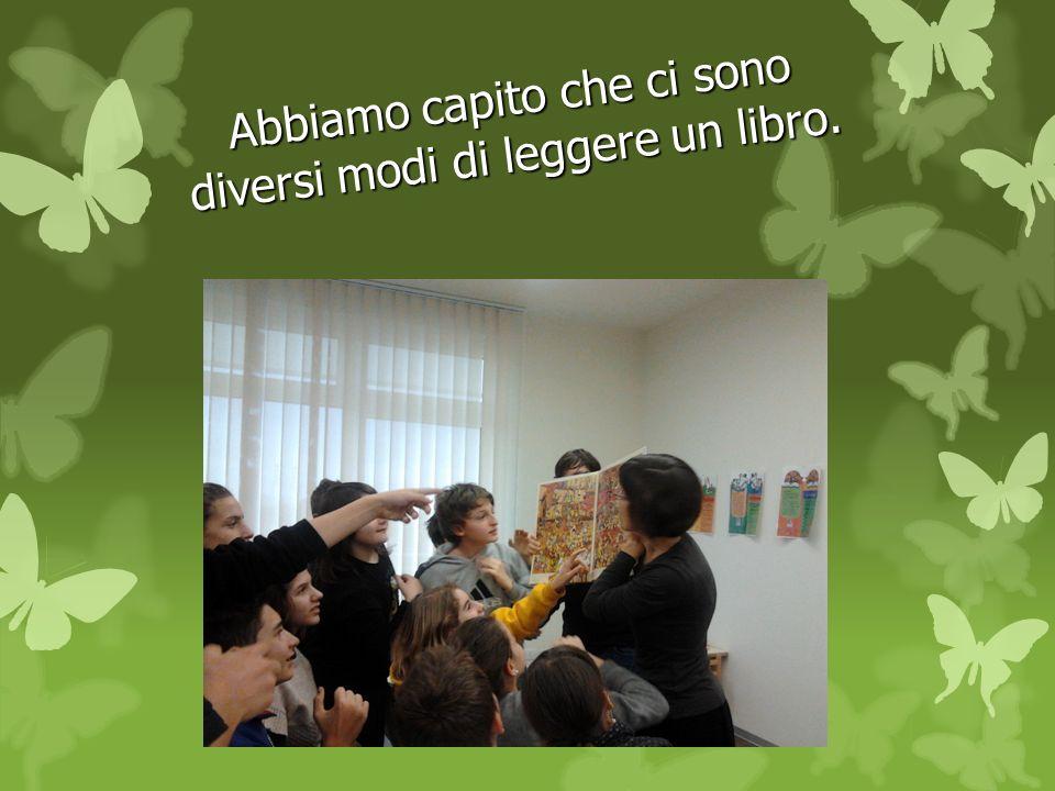 Abbiamo capito che ci sono diversi modi di leggere un libro.