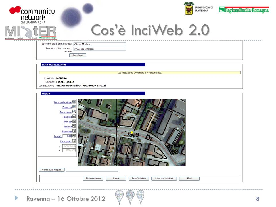 Ravenna – 16 Ottobre 2012 8 Cosè InciWeb 2.0