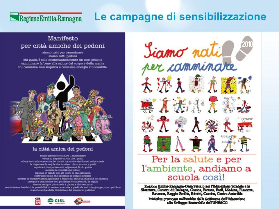 Le campagne di sensibilizzazione