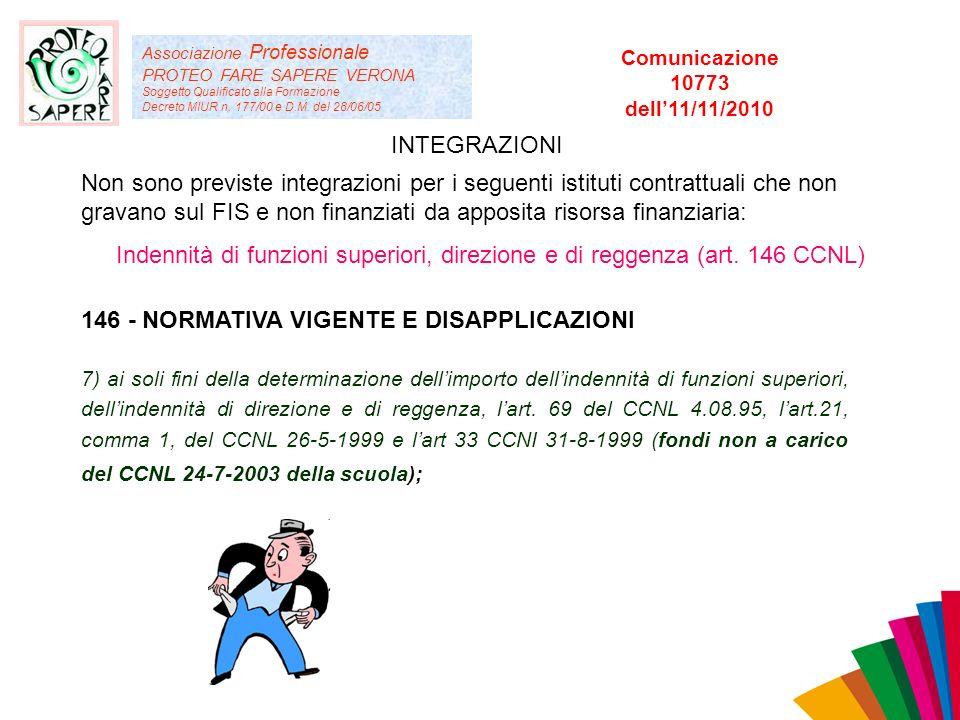 Associazione Professionale PROTEO FARE SAPERE VERONA Soggetto Qualificato alla Formazione Decreto MIUR n. 177/00 e D.M. del 28/06/05 Non sono previste