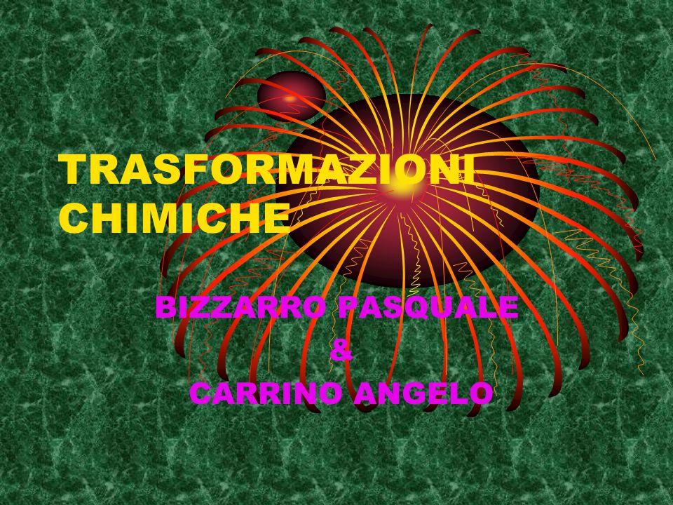 TRASFORMAZIONI CHIMICHE BIZZARRO PASQUALE & CARRINO ANGELO