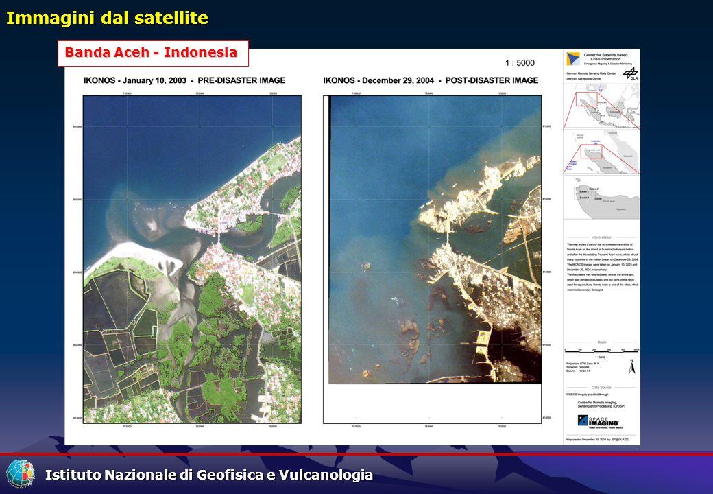 Immagini dal satellite Banda Aceh - Indonesia