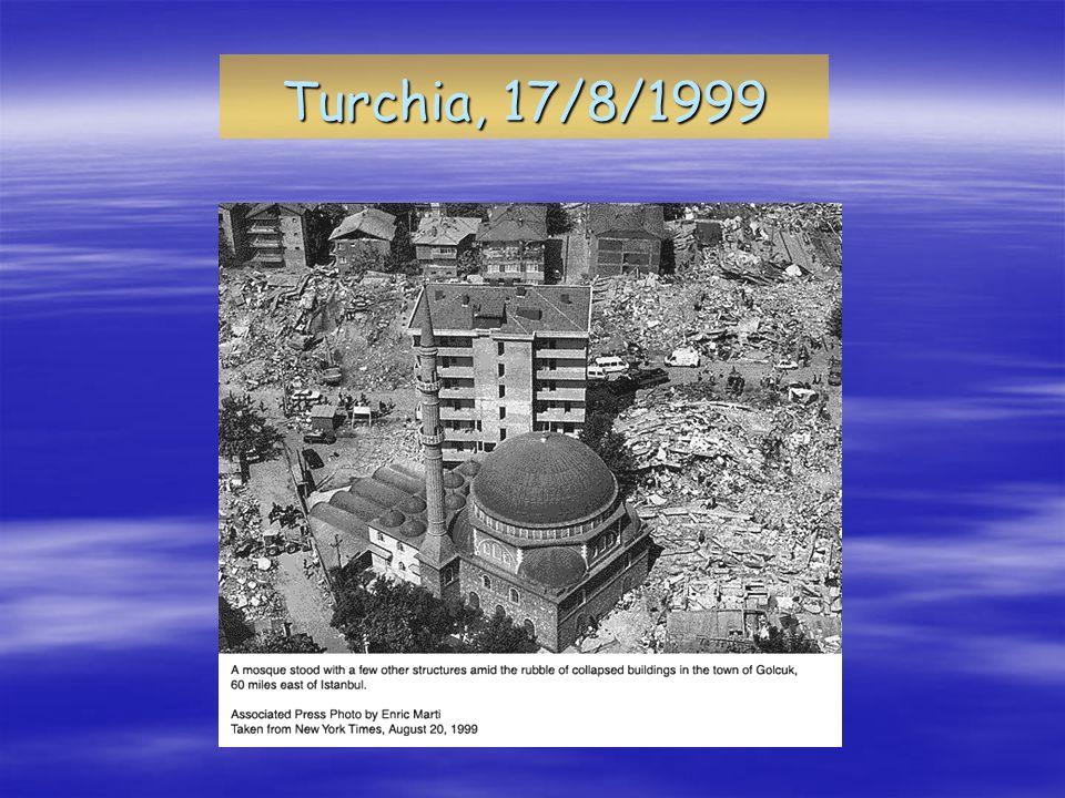 Turchia, 17/8/1999