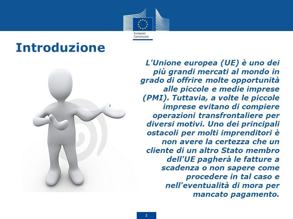 L Unione europea (UE) è uno dei più grandi mercati al mondo in grado di offrire molte opportunità alle piccole e medie imprese (PMI).