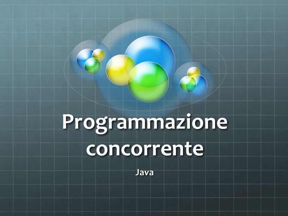 Programmazione concorrente Java