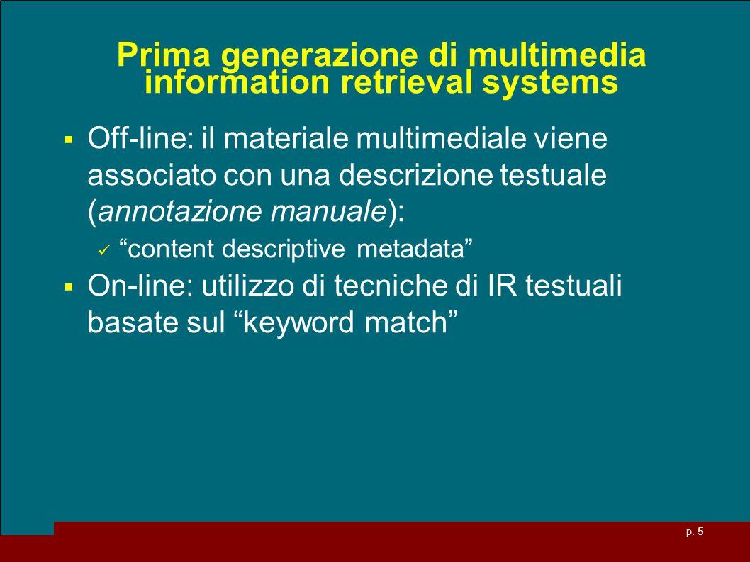 p. 26 Es.: Spazio delle Feature (R 2 )