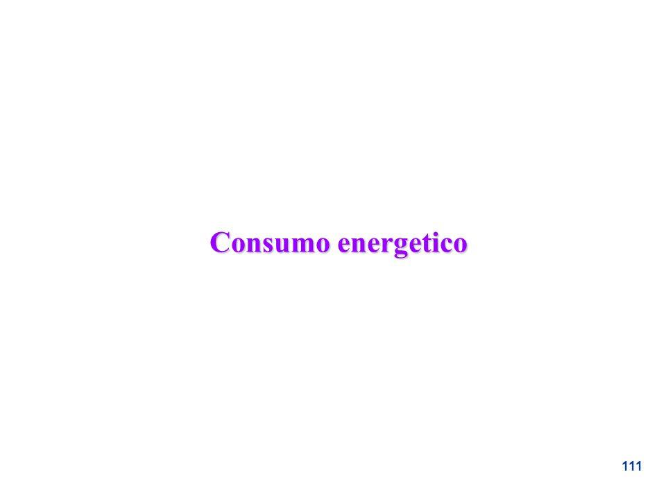 111 Consumo energetico