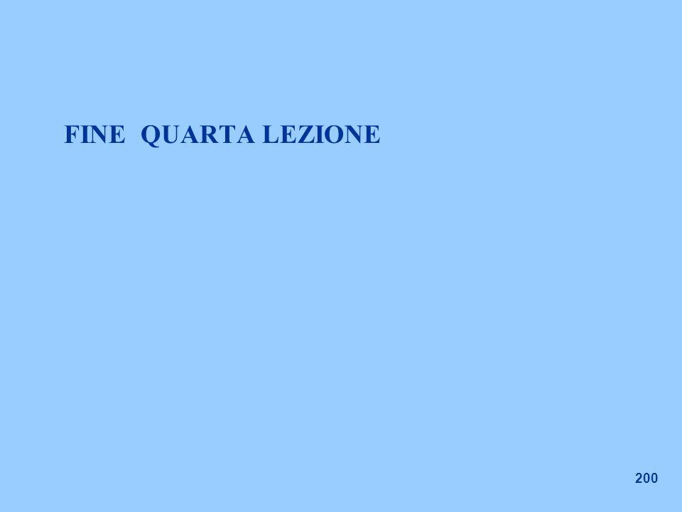 200 FINE QUARTA LEZIONE