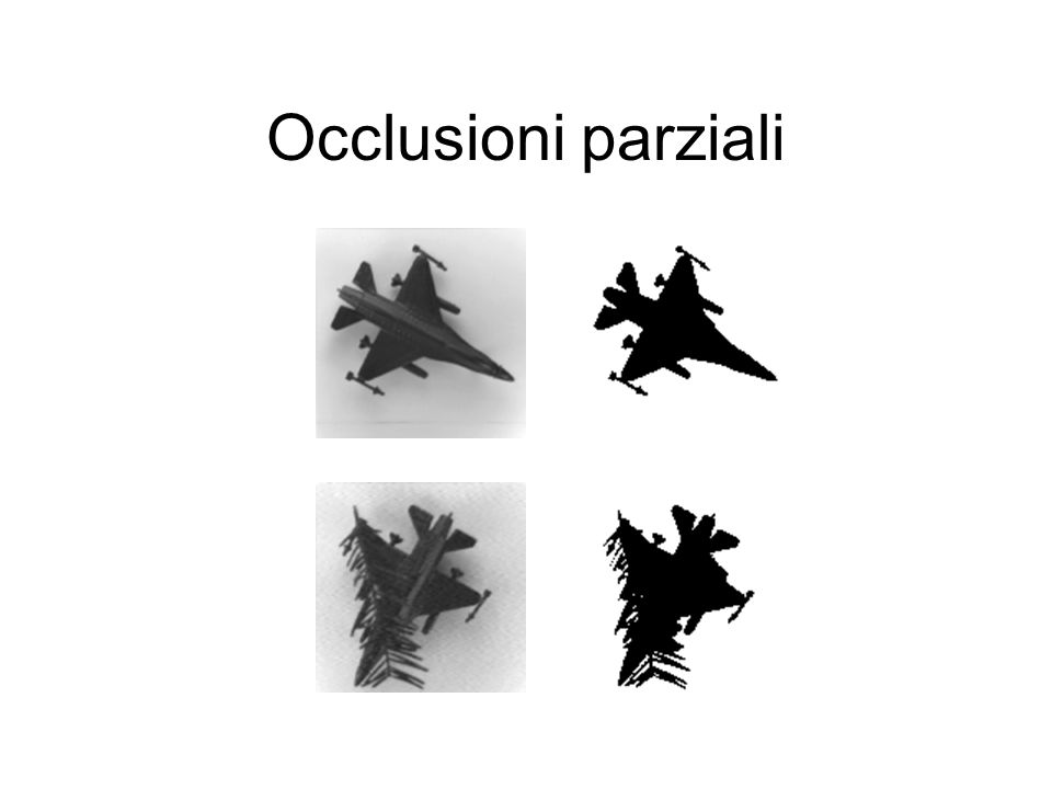 Occlusioni parziali