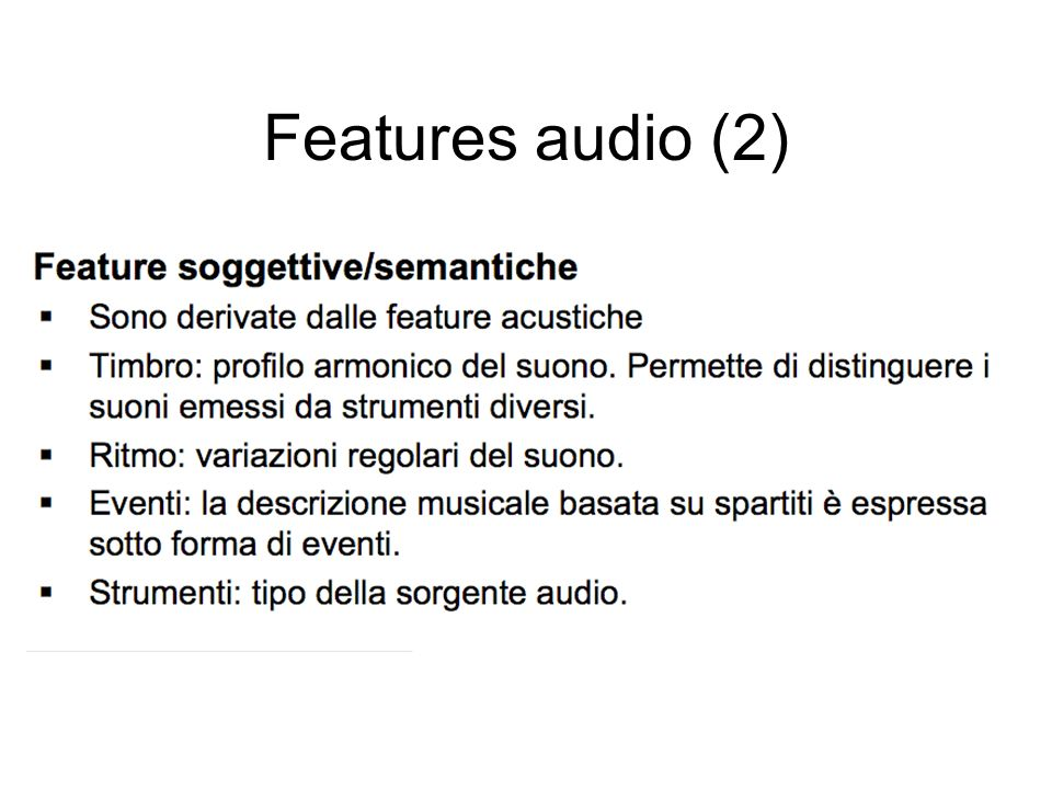 Features audio (2)