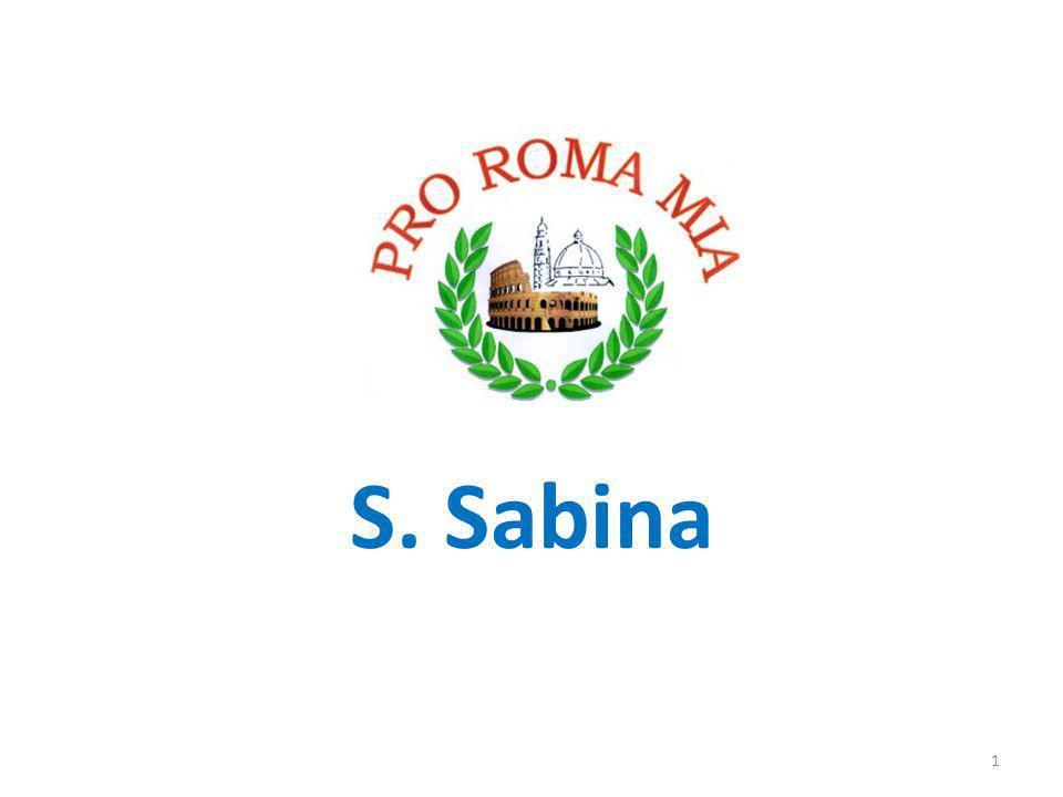 S. Sabina 1