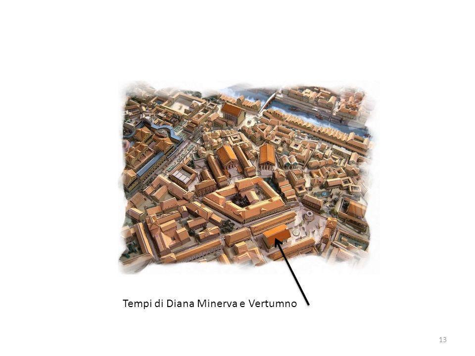 Tempi di Diana Minerva e Vertumno 13
