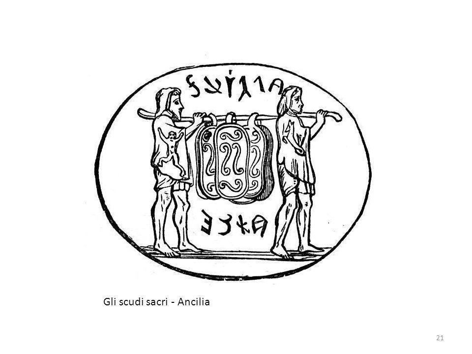 Gli scudi sacri - Ancilia 21