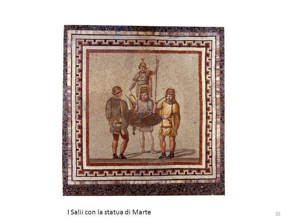 I Salii con la statua di Marte 22