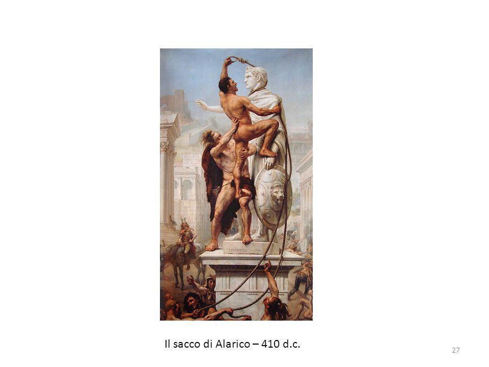 Il sacco di Alarico – 410 d.c. 27