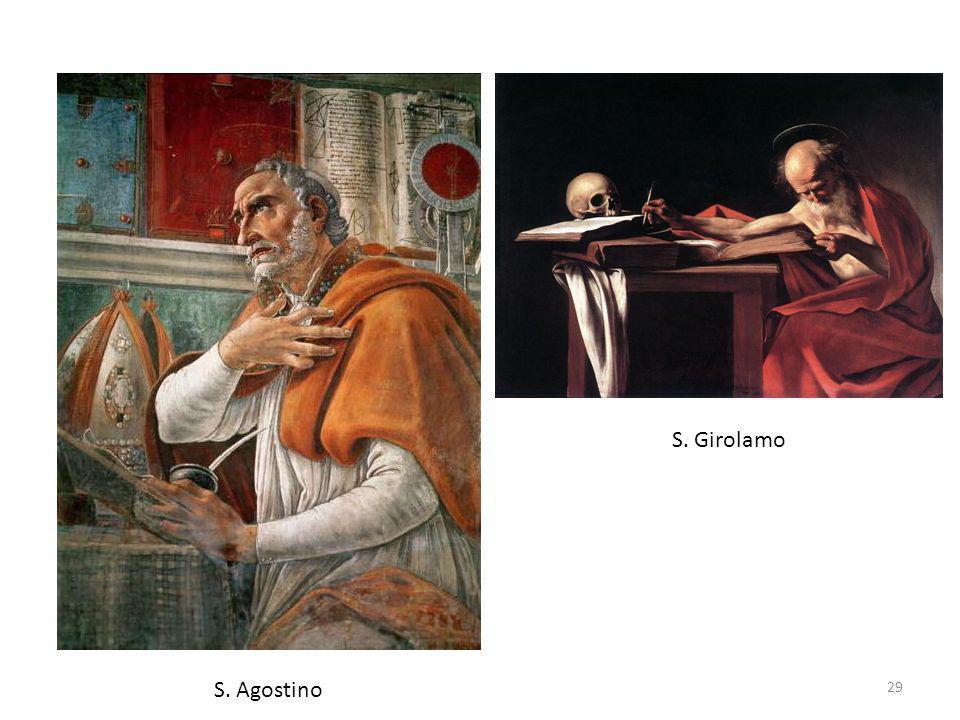 29 S. Agostino S. Girolamo