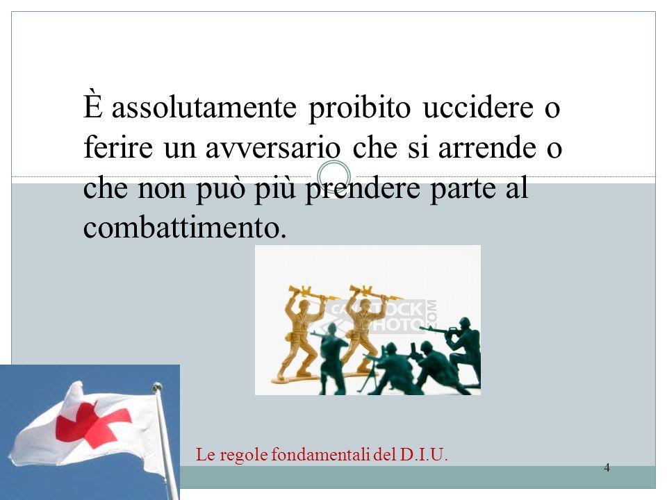 Le regole fondamentali del D.I.U.