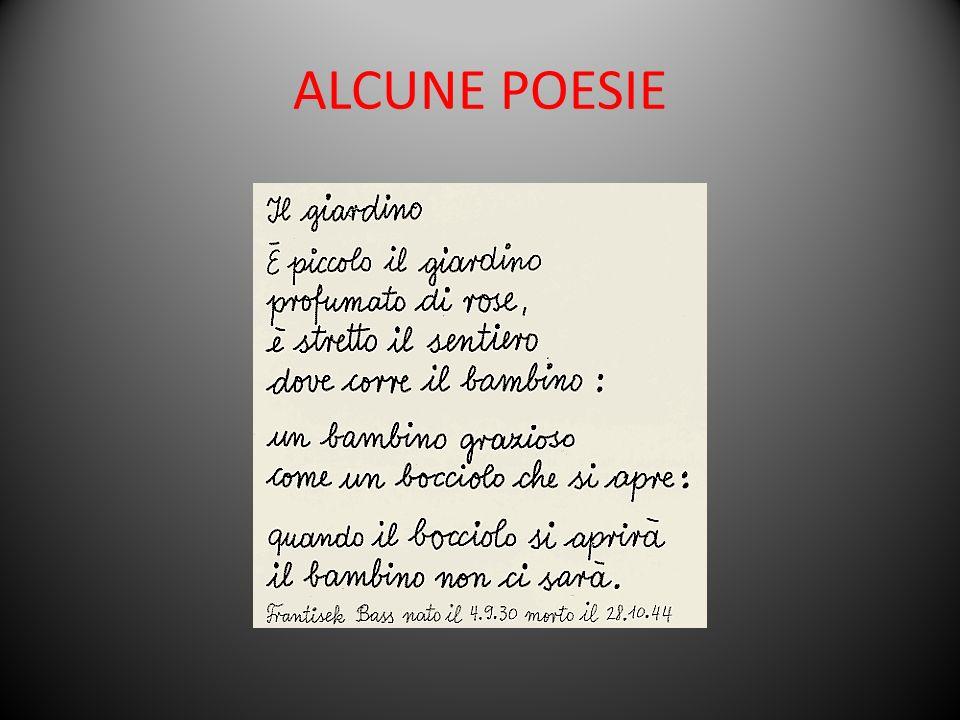ALCUNE POESIE