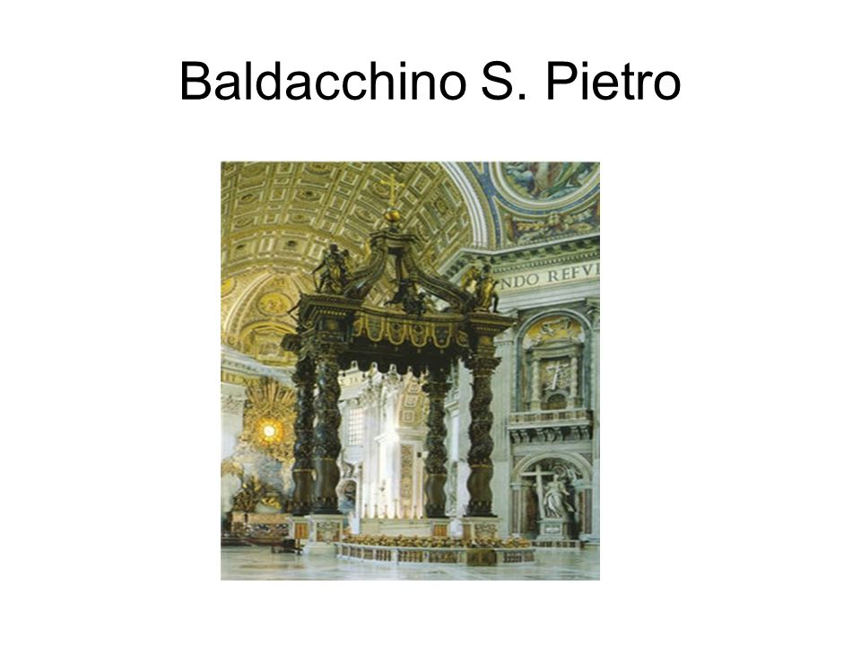 Baldacchino S. Pietro