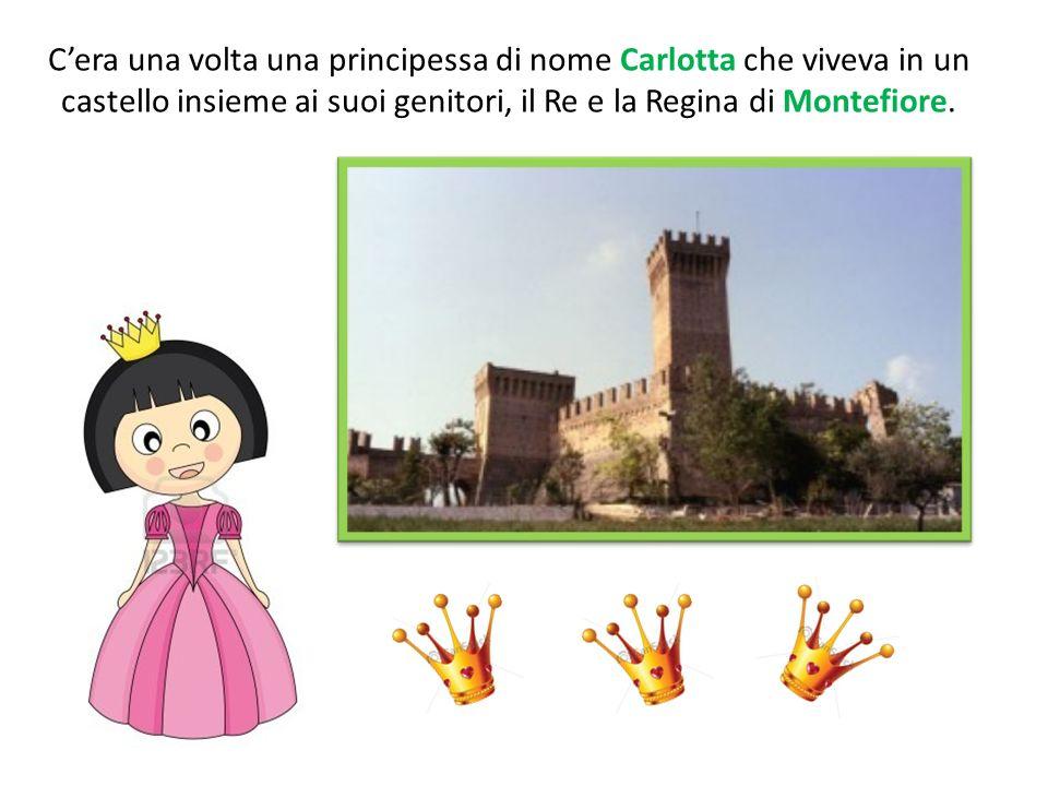 Vicino al bellissimo castello dove Carlotta abitava, cera la casa di un semplice contadino che si chiamava Serafino.