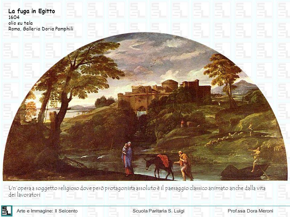 Arte e Immagine: Il SeicentoScuola Paritaria S. LuigiProf.ssa Dora Meroni La fuga in Egitto 1604 olio su tela Roma, Galleria Doria Pamphili Unopera a