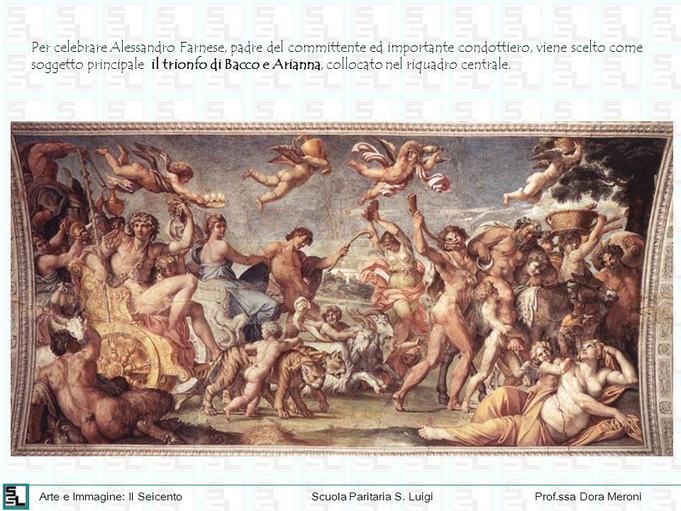 Arte e Immagine: Il SeicentoScuola Paritaria S. LuigiProf.ssa Dora Meroni Per celebrare Alessandro Farnese, padre del committente ed importante condot
