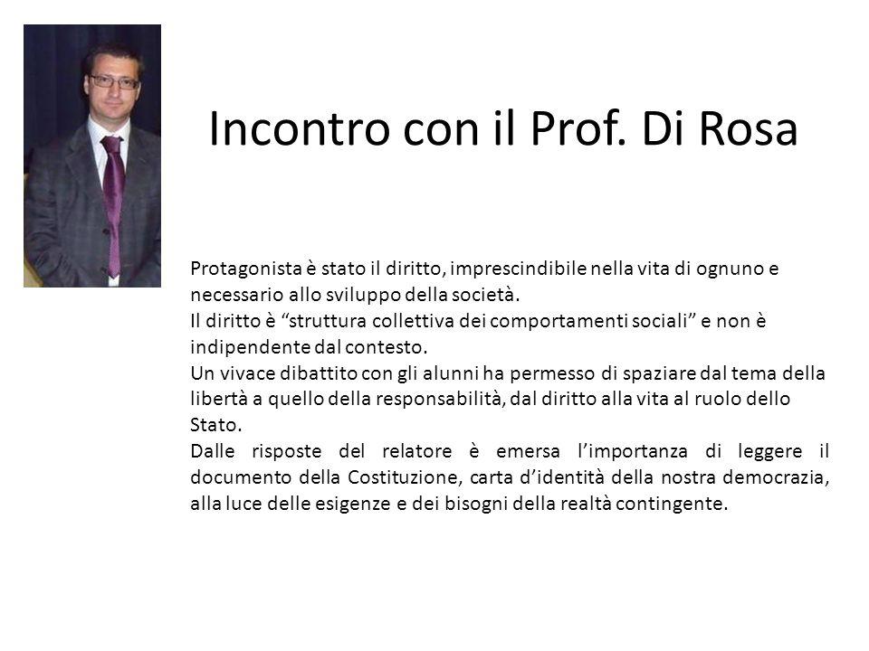 Incontro con il Prof.