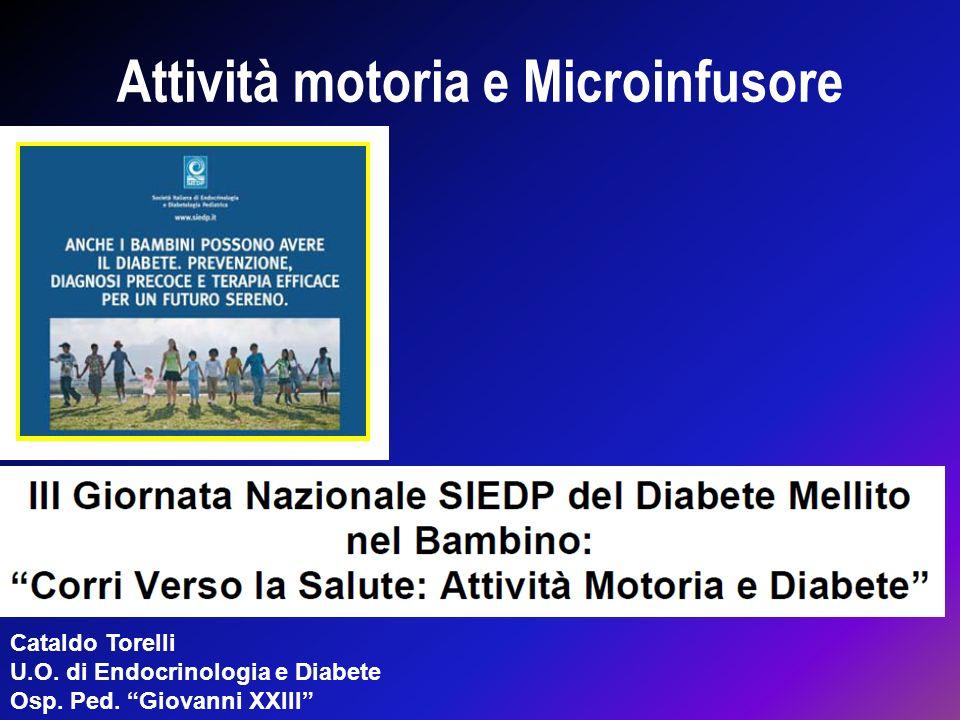 Attività motoria e Microinfusore Cataldo Torelli U.O. di Endocrinologia e Diabete Osp. Ped. Giovanni XXIII