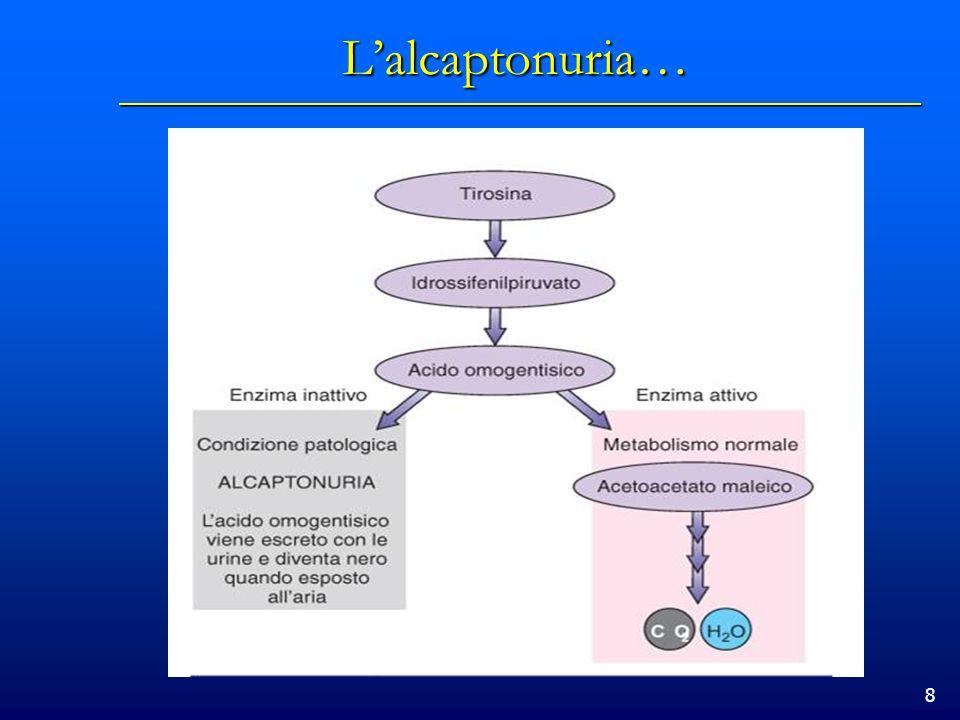 8 Lalcaptonuria…
